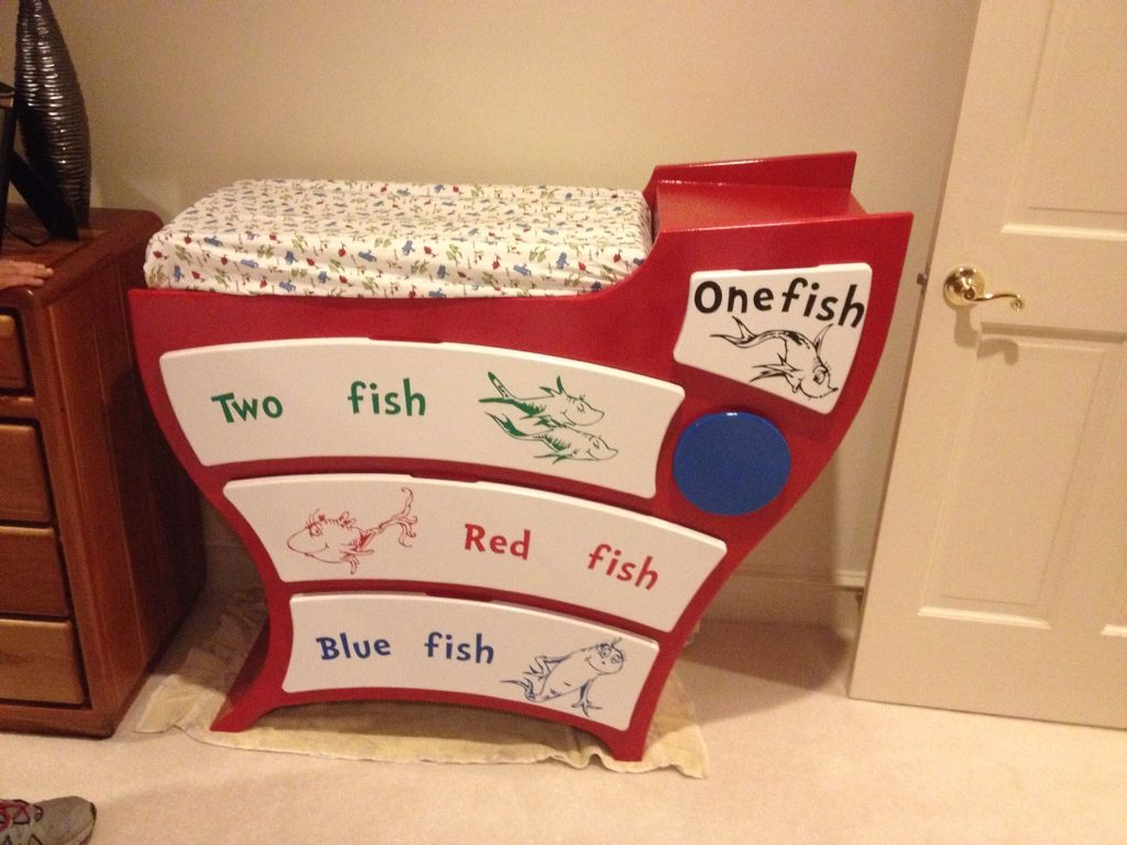 Dr Seuss Dresser/Changing Table | Nursery | Pinterest