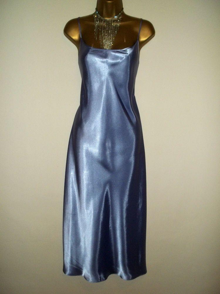 Glossy Satin Dress