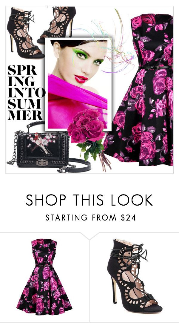 """Roses"" by mujkic-merima ❤ liked on Polyvore featuring vintage and rosegal"