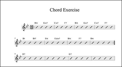 Create Chord Charts In Finale  Finale Tips    Chart