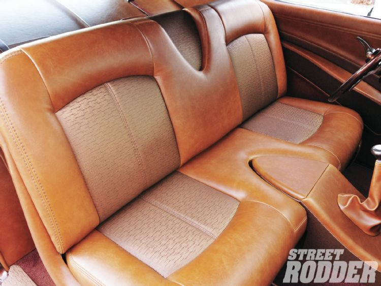 1951 Chevy Business Coupe Leather Seats Kustom Auto