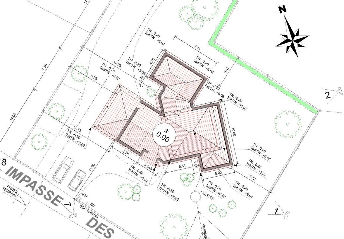 Expert En Urbanisme Et Permis De Construire De Maison Plan Assistance En 2020 Plan De Situation Plan Masse Plan De Coupe
