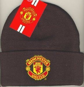 82adeaa30d6389 Manchester United F.C. Knitted Hat Black Tu by Manchester United. $14.33.  Official Manchester United Knitted Hat - Black. Official Manchester United  Knitted ...