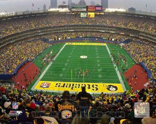 Pittsburgh Steelers Three Rivers Stadium 2000 8x10 Photo ...