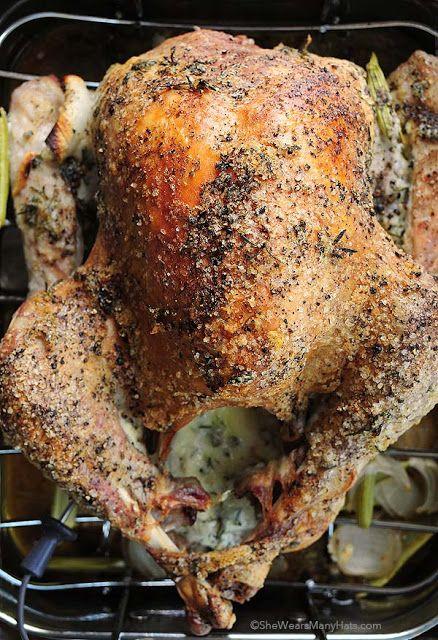 Mayonnaise Roasted Turkey..Great recipe..it you don't like mayonaise use olive oil.