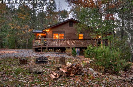 2 Bedroom Blue Ridge N Georgia Cabin Rentals Bach Laurel