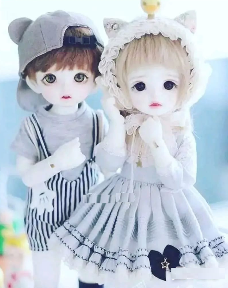 Romantic Doll Couple Wallpaper Cute Dolls Couples Doll Cute Baby Dolls