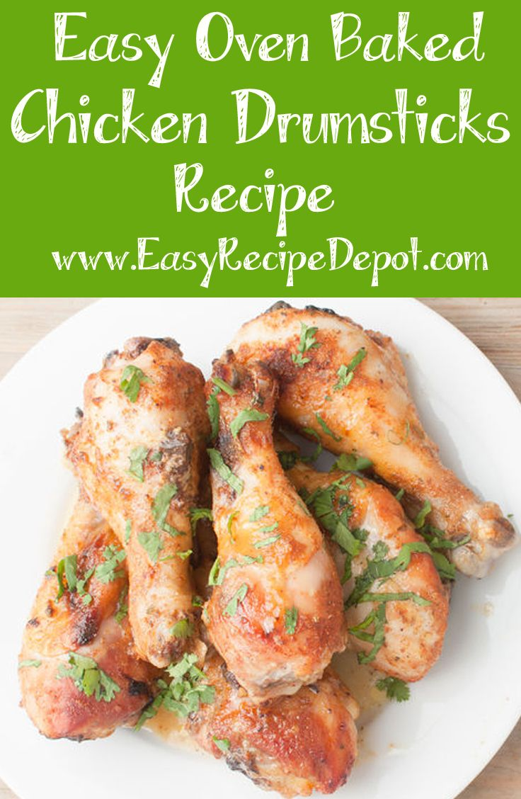 Easy Oven Baked Chicken Drumsticks Recipe Playing House