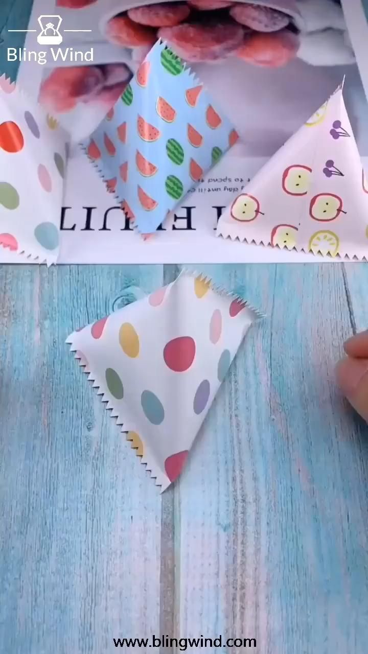 Cute Package For Gift Save and try this craft tuto