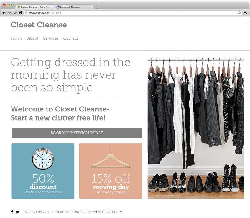 Organizer Website