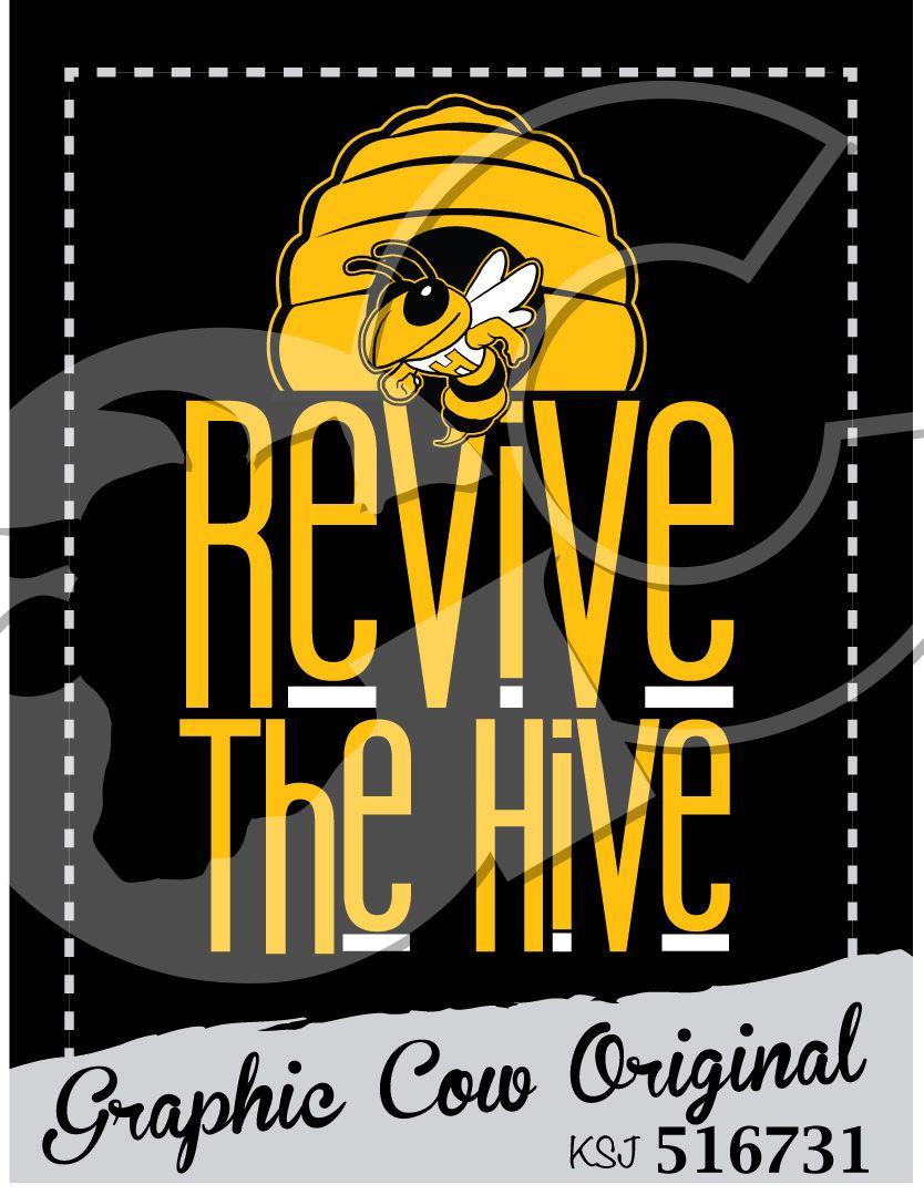 Revive the Hive Buzz Tech mascot grafcow