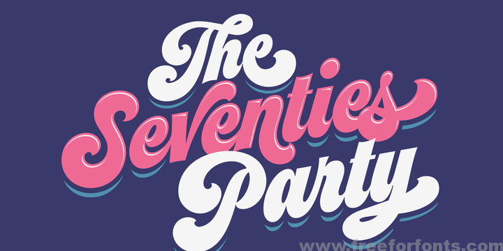 Seventies Font Free Download Free For Fonts Free Fonts Download Lettering Groovy Font
