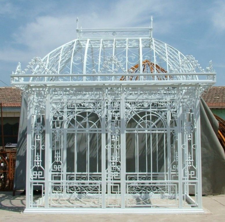 Superb Hand Made Iron Garden English Design Gazebo. Find This Pin And More ...