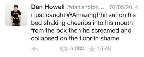 Dan and phil tweets