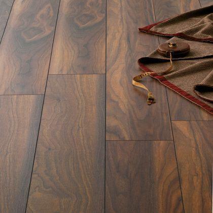 Hygena American Walnut Laminate Flooring Sq M Per Pack Home - Cheap laminate flooring packs