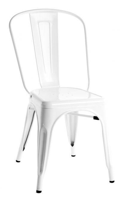 Admirable Xavier Pauchard Tolix Chair Powder Coated Replica Theyellowbook Wood Chair Design Ideas Theyellowbookinfo