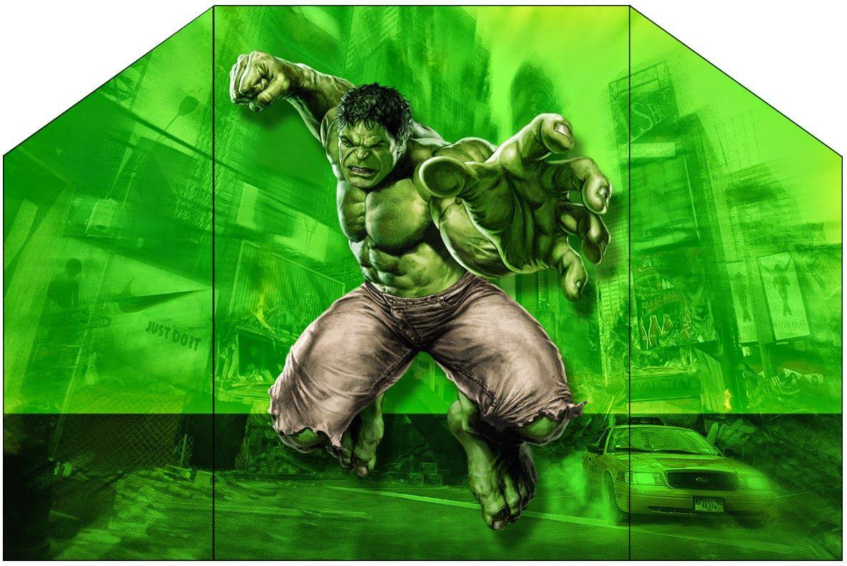 Hulk Free Printable Envelope Super Heroes Pinterest – Hulk Party Invitations