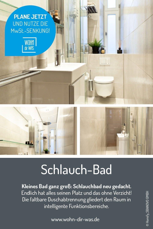Kleines Bad Planen Und Platz Optimal Nutzen In 2020 Duschabtrennung Mini Bad Bad