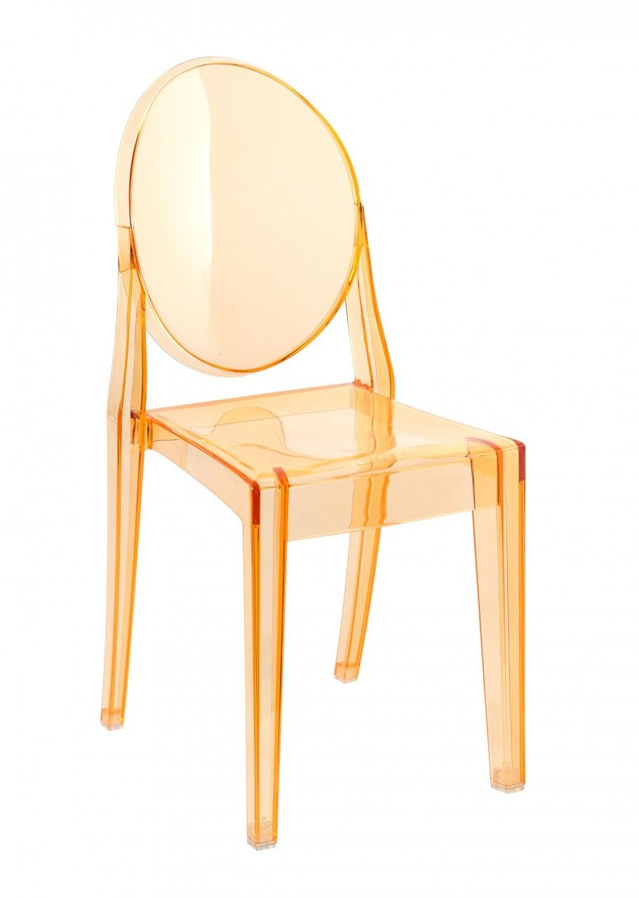 Perfect Milano Republic Furniture   Replica Victoria Ghost Chair   Transparent  Orange, $75.00 (http: