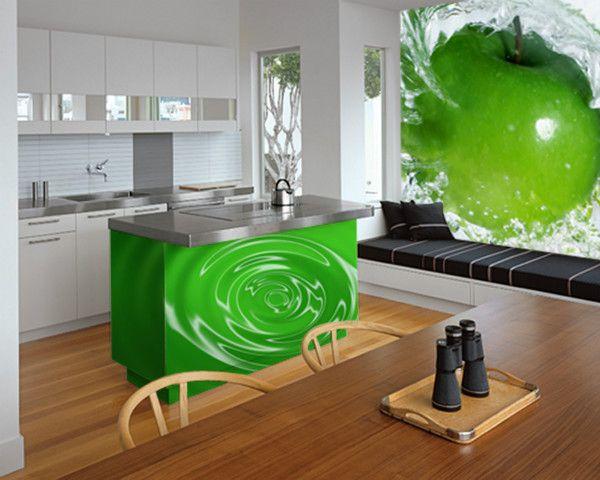 Fotomural 600 480 fotomurales de cocina pinterest kitchens and walls - Fotomural para cocina ...