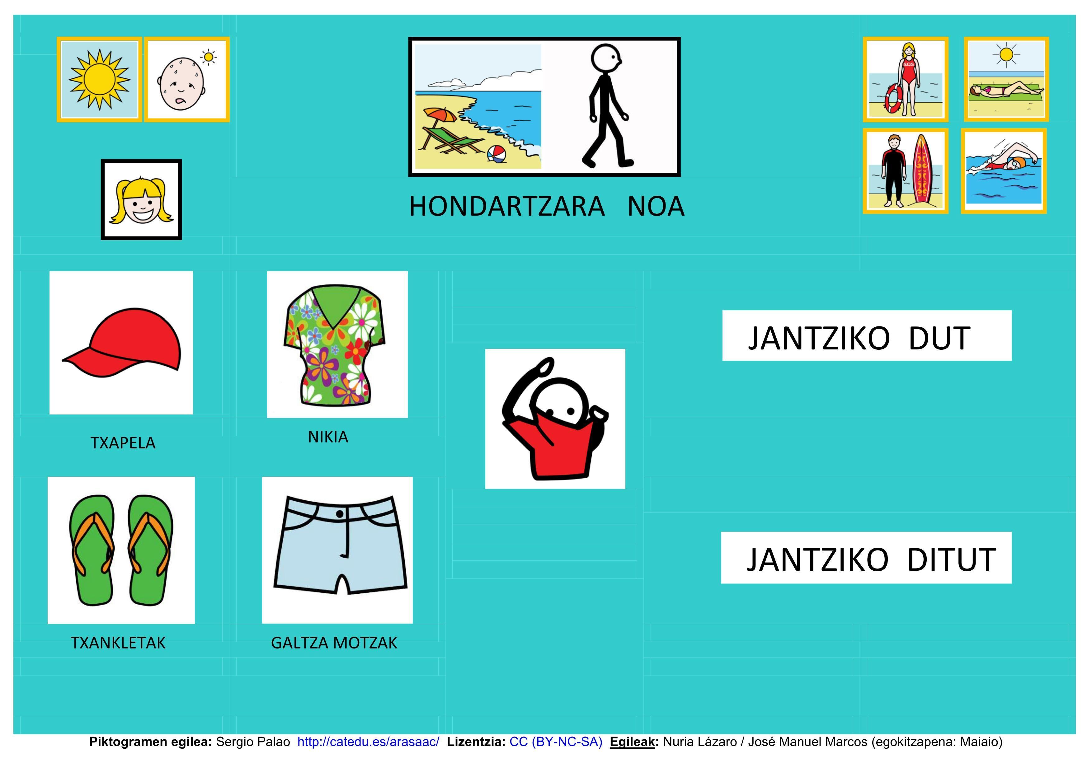 Adaptación en euskera de Tablero de Educación ARASAAC.  http://informaticaparaeducacionespecial.blogspot.fr/p/tableros-de-comunicacion.html