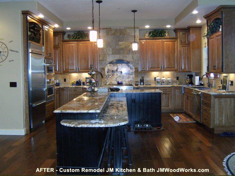 JM Kitchen Before and After Remodel Gallery Denver ...