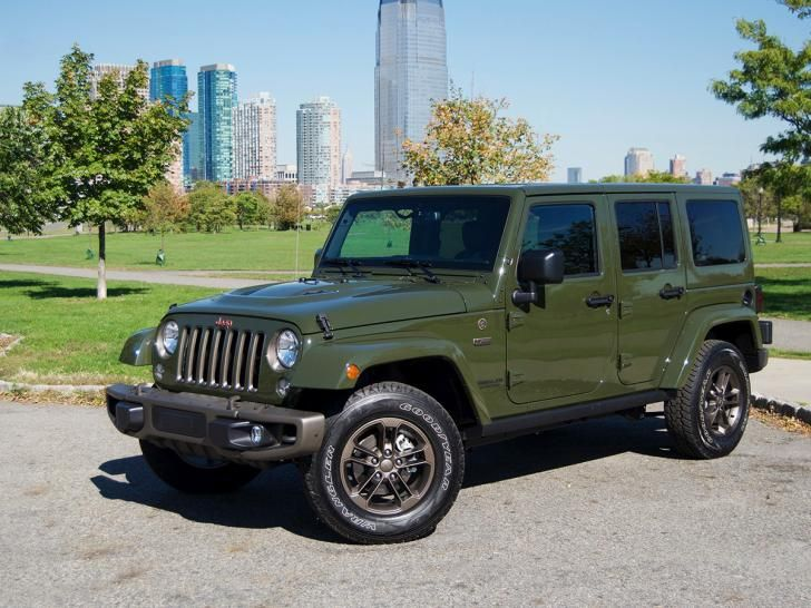 Shut The Front Door 2016 75th Anniversary Jeep With Bronze