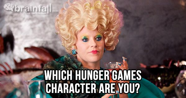 Which 'Hunger Games' Character Are You? - Quiz - Zimbio