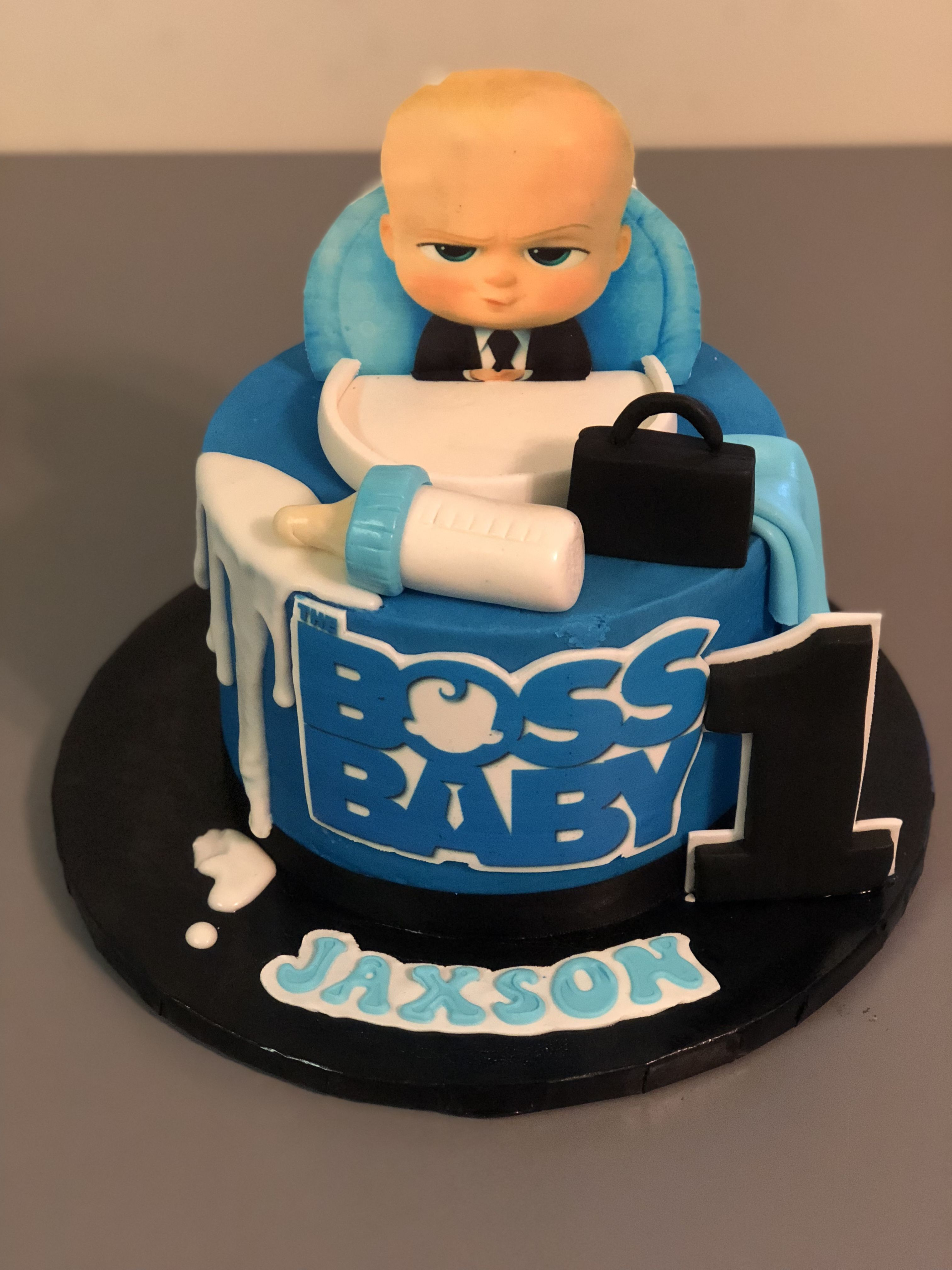 Boss Baby Party Ideas Cake Kids Party Ideas In 2019 Baby Boy