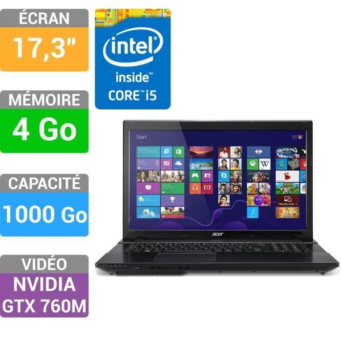 e5fd45bb68a Acer Aspire V3-772G-54204G1TMakk promo Ordinateur Portable pas cher  Cdiscount prix promo Cdiscount 699.99 € TTC au lieu de 699.00 €