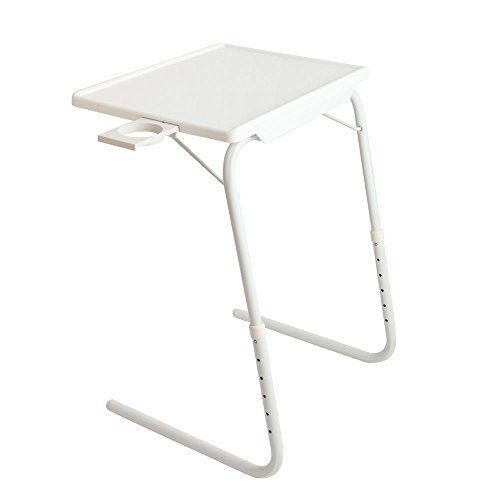 Sensational Goujxcy Foldable Desk Portable Folding Snack Table Squirreltailoven Fun Painted Chair Ideas Images Squirreltailovenorg