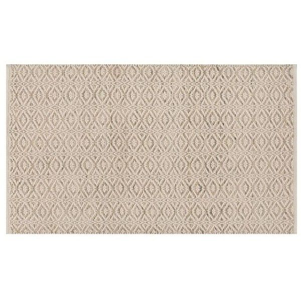 Pottery Barn Peyton Synthetic Indoor/Outdoor Rug (215 CAD) ❤ liked on Polyvore featuring home, rugs, indoor outdoor area rugs, weave rug, geometric pattern rug, indoor outdoor rugs and woven area rugs