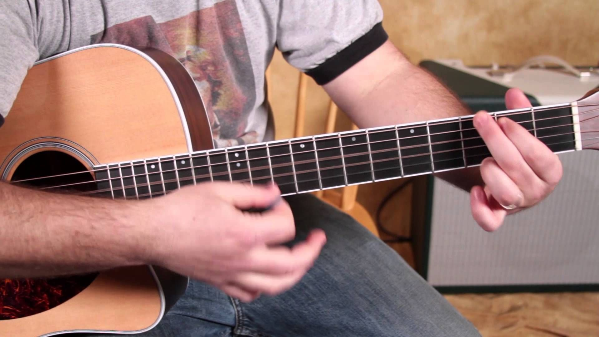 Easy Beginner Songs Guitar Lesson How To Play Gloria By Them W