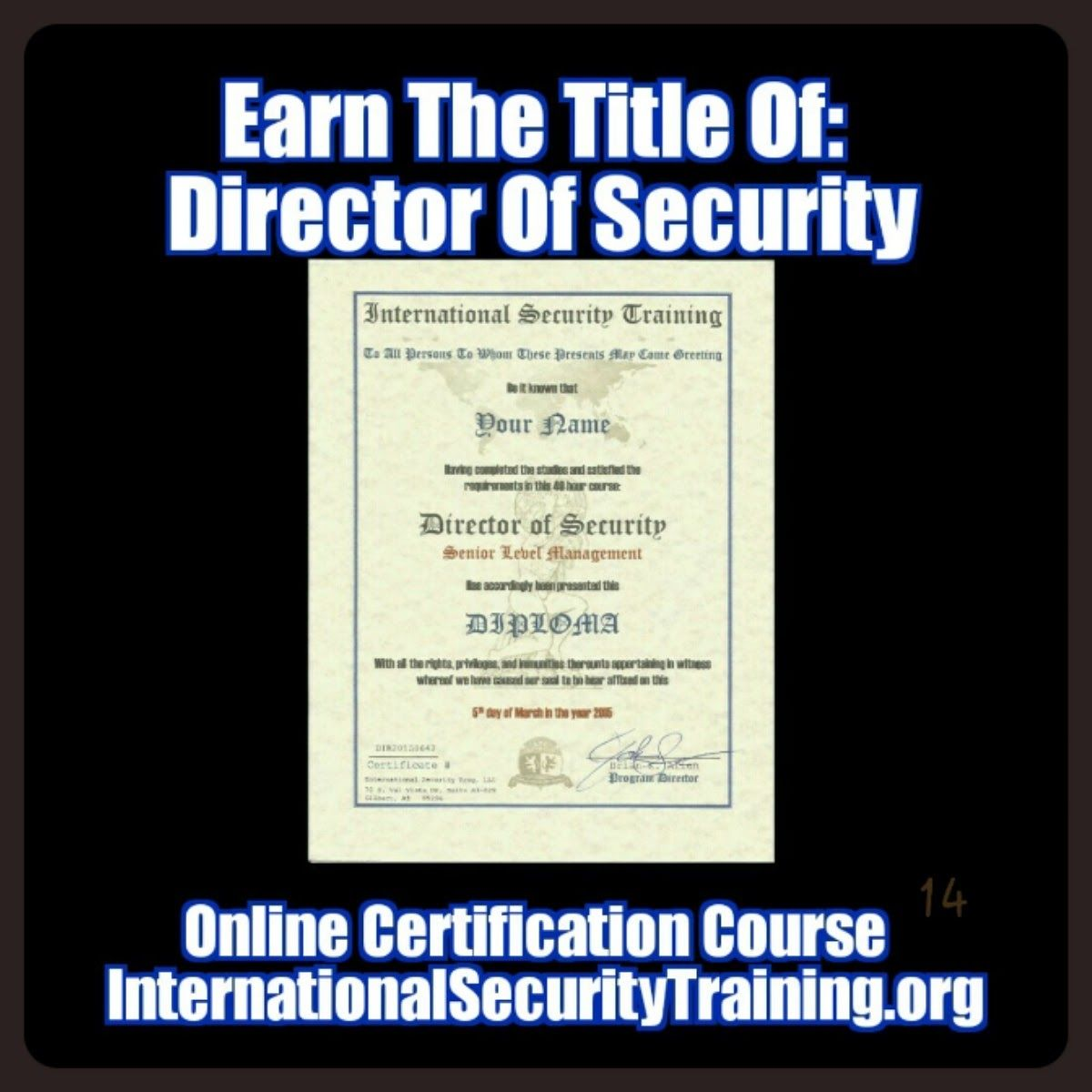 Internationalsecuritytraining boise atlantabraves online courses 1betcityfo Gallery