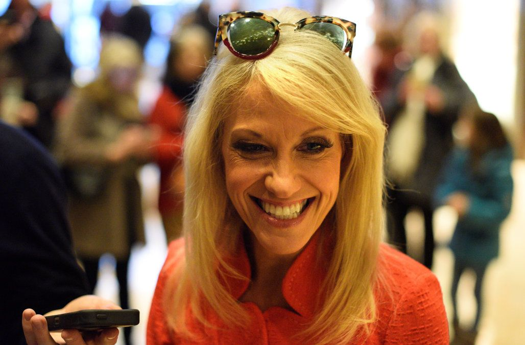 Donald Trump reveals Kellyanne Conway's White House role as presidential counselor