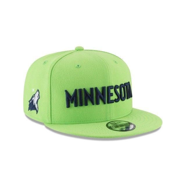 hot sale online c091b e87a0 Minnesota Timberwolves New Era 9FIFTY NBA Statement Adjustable Snapback Hat  Cap