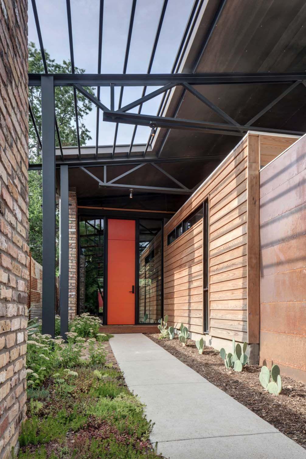 Exceptional modern industrial Texan dwelling: Casa Bonita   Modern ...