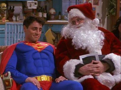 Chandler My Favorite Part Was When Superman Flew All Of The Jews Out Of Egypt Friends Christmas Episode Friends Tv Friends Season