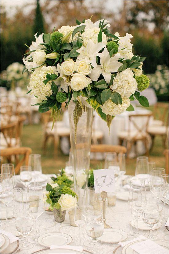 white and black elegant wedding centerpieces wedding rh pinterest co uk