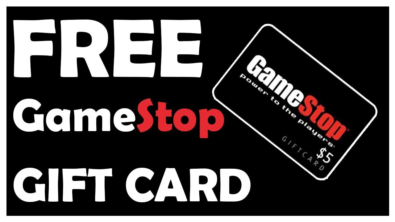 How to get free gamestop gift card free gamestop gift