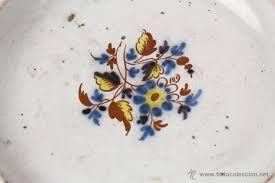 Resultado de imagen de ceramica pintada siglo XVIII