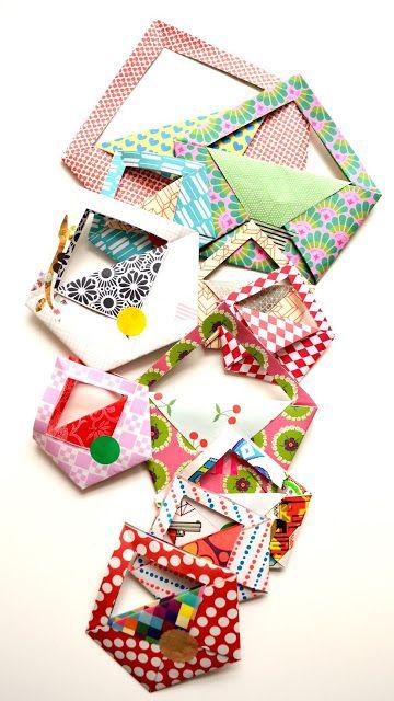 little origami bag diy ingthings origami pinterest