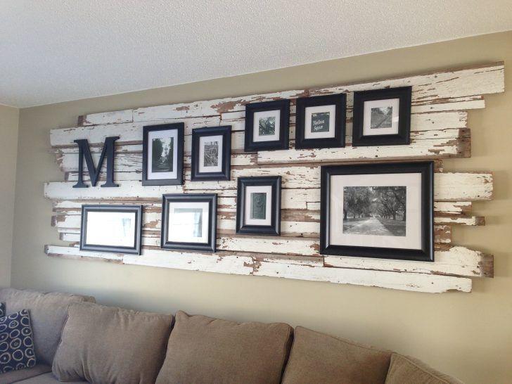 Framed tv on wall diy decor