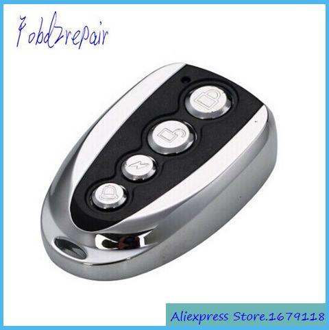 Fobd2repair 315mhz 433mhz Fixed Code Auto Door Remote Key Self Clone Garage Door Remote Opener Self Learning Copy A Automatic Door Opener Remote Control Remote