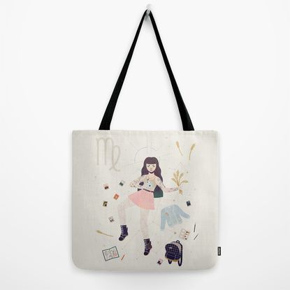 Virgo Tote Bag by LordofMasks | Society6