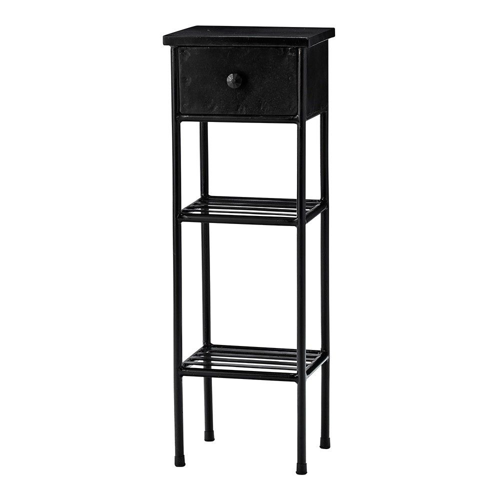 Best Lene Bjerre Depot Side Table Black Accent Table Tall 400 x 300