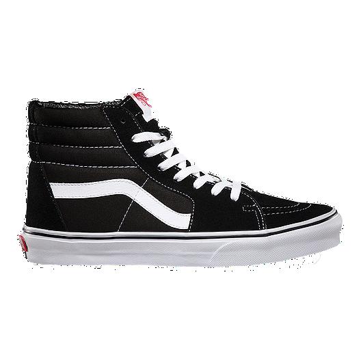 Vans Men's Sk8-Hi Shoes - Black   Vans
