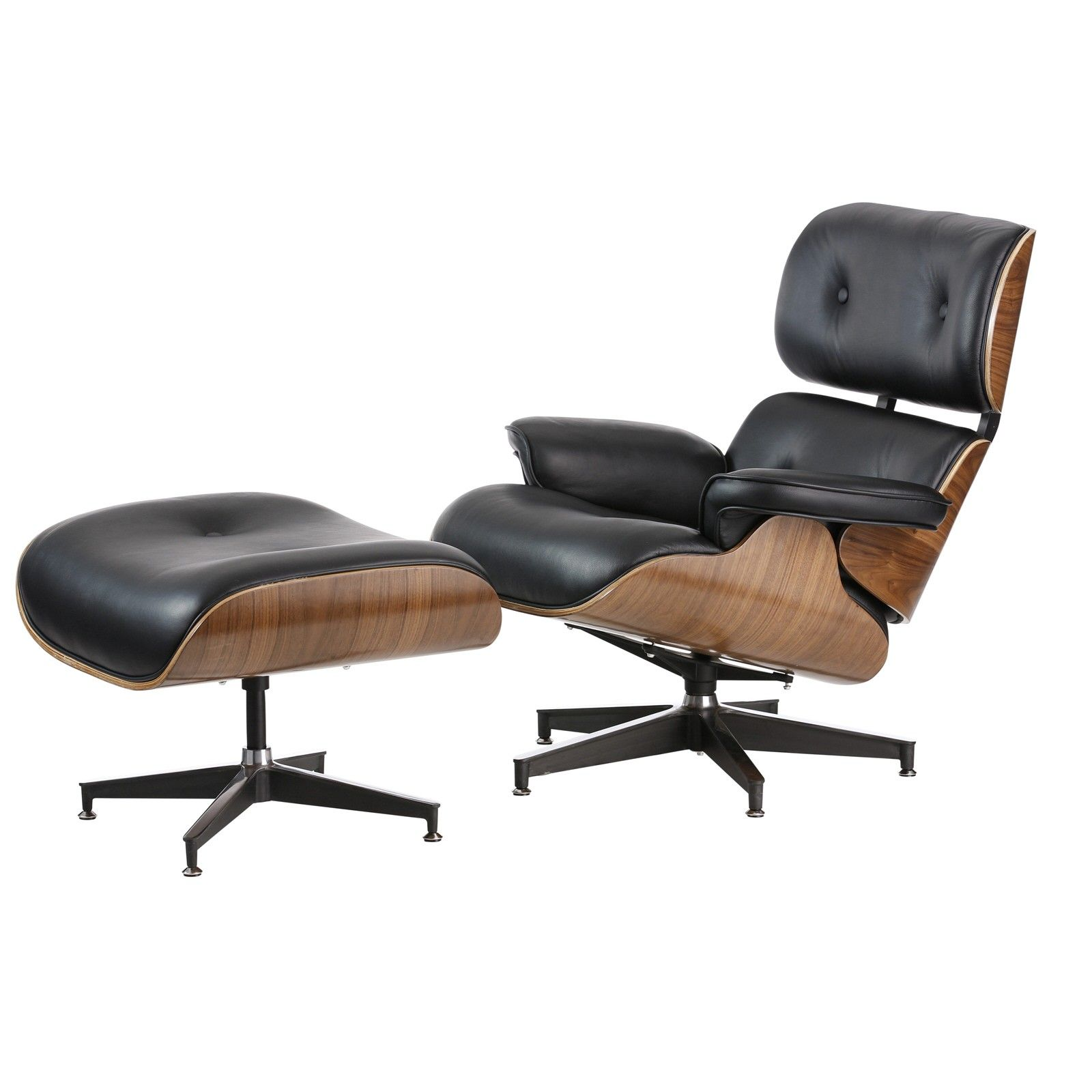 Replica Eames Lounge Chair   Italian Leather