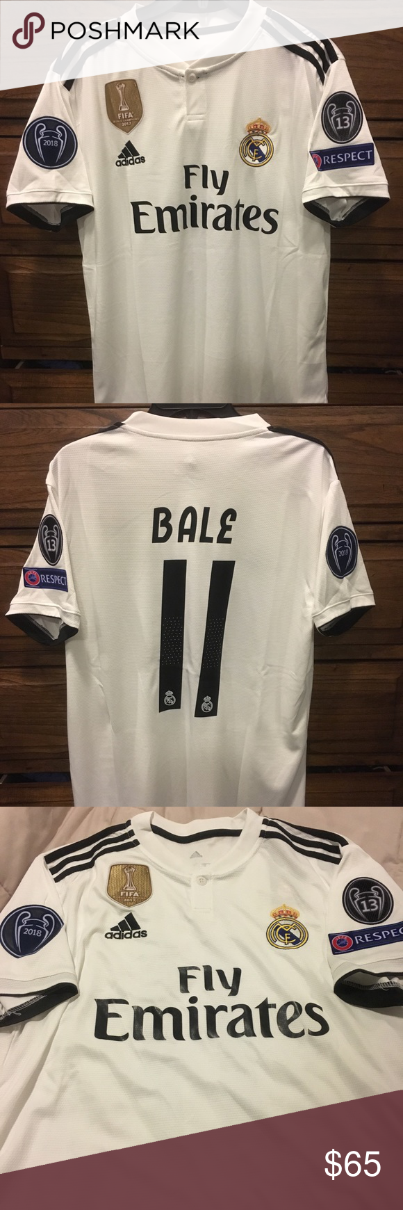 1003986eb Real Madrid Gareth Bale  11 Jersey Real Madrid 2018-2019 Gareth Bale ...