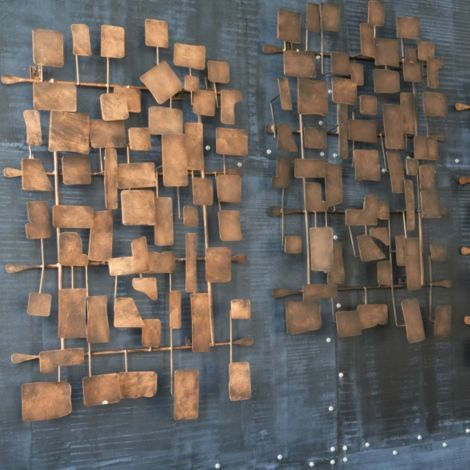 Ethlen Metal Wall Sculpture Ethan Allen Furniture Interior Design